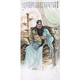 中国美术家协会会员 赵金鸰四尺《关帝圣君》(询价)