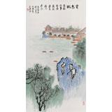 李明成三尺写意最新博彩大全《莫愁湖》
