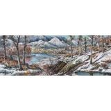 【已售】朝鲜画家永吉 小八尺《初冬》