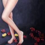 著名青年油画家朱艺林 布面油画 《人体》(询价)