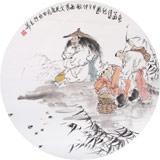 南海禅寺 妙林居士 最新博彩大全《渔翁得利图》