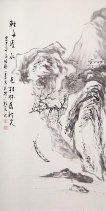 刘显辰 小尺寸《轻舟凌水色》 辽宁著名19461188伟德家