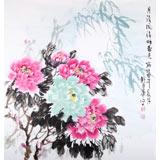 刘卓华 四尺《月淡风清暗香来》 河北著名老画家(询价)