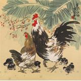 刘纪 四尺斗方《大吉图》 河南著名老画家