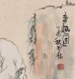 南海禅寺 妙林居士 四尺斗方《弈趣图》