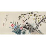 北京美协凌雪四尺《繁荣和平》
