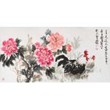 河北著名老画家刘卓华四尺《春光道不尽》