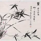 张春奇 四尺斗方《兰竹图》徐悲鸿纪念馆艺术中心理事(询价)