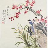 北京美协凌雪四尺斗方《清香久远》