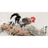 王向阳 四尺《雄风图》中国美术家协会会员(询价)