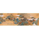 【已售】何实 1.5米《霜叶红于二月花》吉林著名19461188伟德家