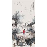 张春奇 三尺《后海鸽韵》徐悲鸿纪念馆艺术中心理事(询价)