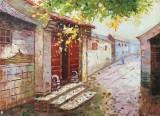 郭丽岩 《宁静的夏日》 布面油画