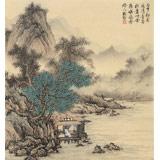 贵州七星关美协主席吴显刚 小尺寸《清音图》