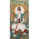 【已售】董书林四尺观音菩萨佛像《观世音》