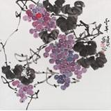 【已售】湖南省著名书画家罗华斌 四尺斗方《丰年》