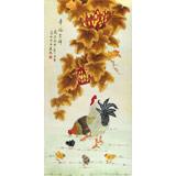 北京美协凌雪四尺《幸福吉祥》