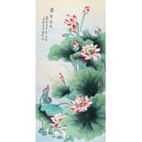 北京美协凌雪四尺《清香溢远》