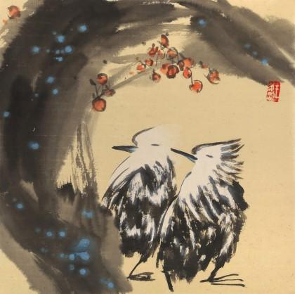 国家一级美术师王永刚 小尺寸《美梦》