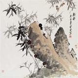 王宝钦 精品国画《新雨》当代花鸟牡丹画名家(询价)