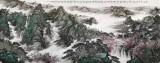 中国书画家协会理事李碧峰 大丈二19461188伟德《高峡出平湖》