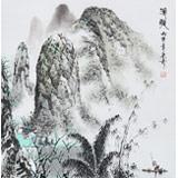 北京美协张春奇 四尺斗方《渔歌》(询价)