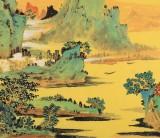 【已售】辽宁美协谷春钢 三尺《祥和春景》