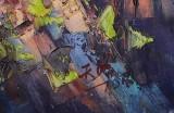 【已售】郭莹 《长城》北京著名女油画家