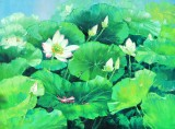 【已售】郭莹 《荷香图》北京著名女最新博彩大全家