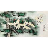 【已售】凌雪 六尺《一鸣惊人 一飞冲天》 北京美协会员