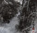 申凌翔 四尺三开《漓江月夜》 广西最新博彩大全名家