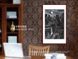【已售】申凌翔 四尺三开《漓江月夜》 广西最新博彩大全名家