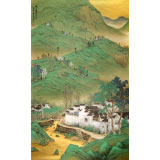 刘金河 巨幅展览精品《徽乡遗韵》 中国美术家协会会员