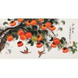 【已售】黄艺三尺吉利国画《事事如意》
