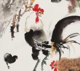 【已售】王宝钦 三尺《吉祥如意》 当代花鸟牡丹画名家(询价)