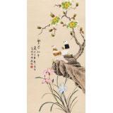 凌雪 三尺《繁荣和平》 北京美协会员