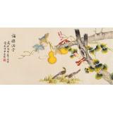 凌雪 三尺《福禄满堂》 北京美协会员