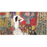 王永刚 三尺《皎皎秋月》 国家一级美术师(询价)