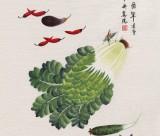 凌雪 四尺《百财图》 北京美协会员