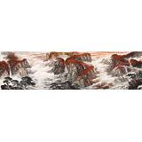 李碧峰 小丈二《万山红遍层林尽染》 中国书画家协会理事
