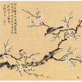 【已售】皇甫小喜 四尺斗方《闻道梅花坼晓风》 河南著名花鸟画家
