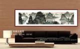 刘金河 八尺对开《漓水清韵》 中国美术家协会会员