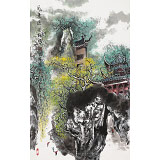 谭良干 大三尺《风景这边独好》 贵州山水画名家