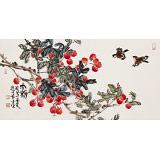 曲逸之 三尺《大利》 中国美术学院著名花鸟画家