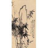 张春奇四尺《翠竹图》徐悲鸿纪念馆艺术中心理事(询价)