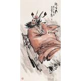 魏武双四尺国画《钟馗图》(询价)