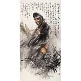 赵金鸰四尺《济公》清华美院高研班导师(询价)