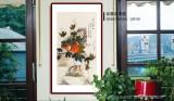 【已售】凌雪 三尺《安居乐业》 北京美协会员