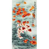 南海禅寺 妙林居士 三尺《红运当头 前程似锦》