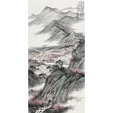 【已售】刘金河 四尺《夹岸桃花万树妍》 国家画院山水名家